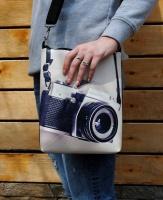 Кожаная сумка через плечо «Сон фотографа»