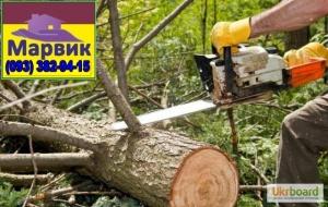 удаление деревьев Киев