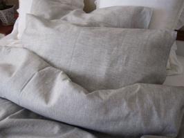 Льняное детское постельное бельё