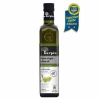 Оливковое масло Karpea Athinolia Extra virgin 500мл. с\б