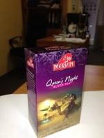 Чай Mervin «Королева Ночи» Черный/Зеленый 100 грам