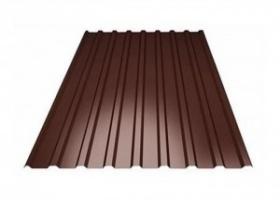 Лист профильный 2000*950 мм цвет коричневый