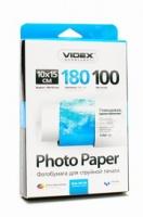 Фотобумага Videx 10x15  180 глянцевая 100л