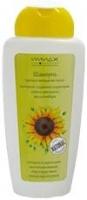Шампунь против выпадения волос экстракт соцветий подсолнуха корень женьшеня масло имбиря
