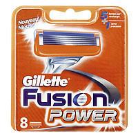 Сменные кассеты Gillette Fusion Power 8шт/упак