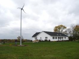 Ветрогенератор 5квт,ветроустановка 5000вт,ветряк