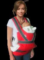 Эргономичный рюкзак-переноска Summer Breezy Premium Красный