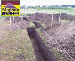 выкопать траншею Киев