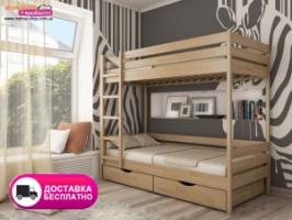 Деревянная двухъярусная кровать Эстелла Дуэт