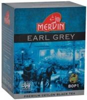 Чай Mervin Черный Бергамот BOP1* крупный лист 100 грам.