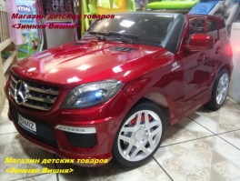Электромобиль Mercedes-Benz AMG ML63 RED