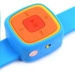 Одонепроникний ремешок МР3 у виде часов есть слот для карти мікро CD а также вход для наушников