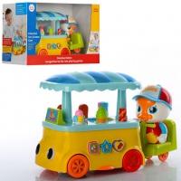 Машинка «Тележка с мороженным» 6101 Huile Toys