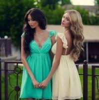 Модное летнее платье 728 ол