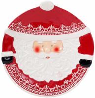 Набор 2 керамических блюда «Санта», 30.5см