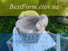 Форма для кашпо «Руки» клумба, цветник