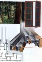 Дерево-алюминиевые окна ,двери ,витражи .