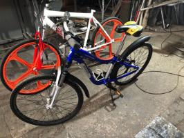 Колесо велосипедное с безкамерной покрышкой 26х1,5