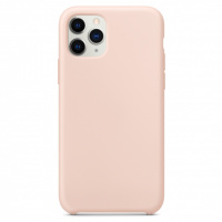 Чехол Silicone Case without Logo (AA) для Apple iPhone 11 Pro Max (6.5«) Розовый / Pink Sand
