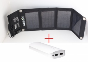 Солнечный зарядный комплект для туризма А14