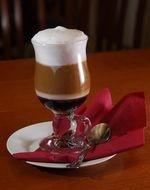 Кавовий коктейль «Вишневий мароліно»