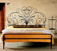 Кованая кровать «Павлина».