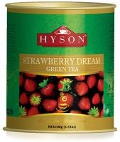 Чай Хайсон Strawberry Dream Green Tea Клубника 100 гр