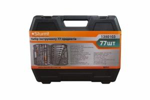 Набор инструмента 1350103  Sturm, 77 предметов