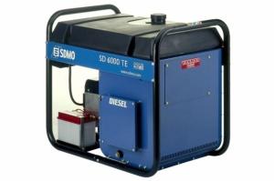 Генератор дизельный SDMO SD 6000 TE 5,2 кВт