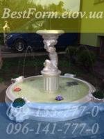 Форма для фонтана «Мальчик с вазой» с бесейном