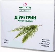 Диуретрин - лечение почек и выведения лишней жидкости, противоотечное.
