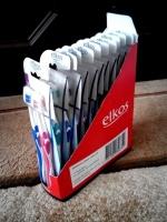 Зубные щетки Elkos 2шт/уп мягкие, средние, жёсткие