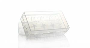 Контейнер для аккумуляторов 2x18650 (4x16340/CR123)