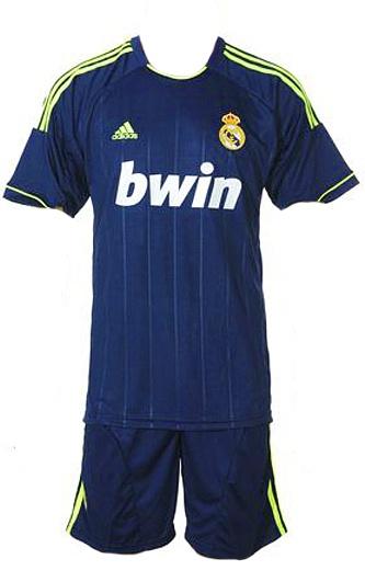 Футбольная форма Real Madrid 12/13 (гостевая)