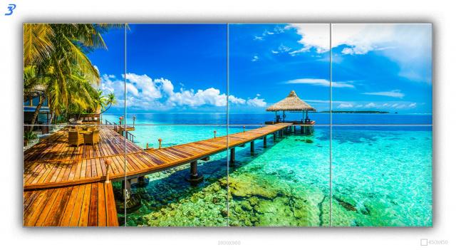 Сет «Мальдивы-набережная»
