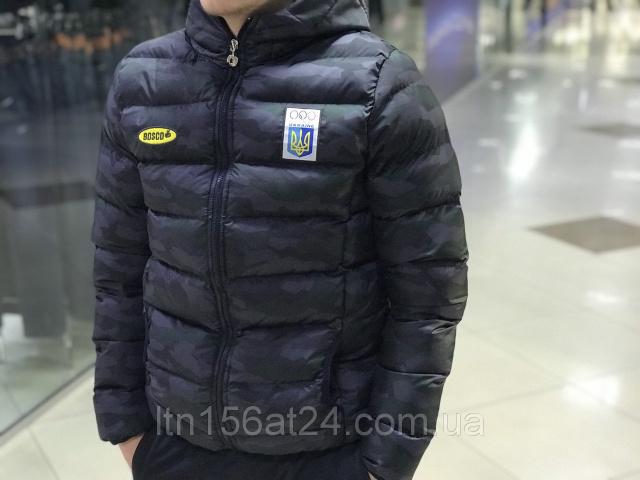 11c9d2f7 Зимняя куртка Bosco Sport Украина камуфляж limited edition (2019 ...