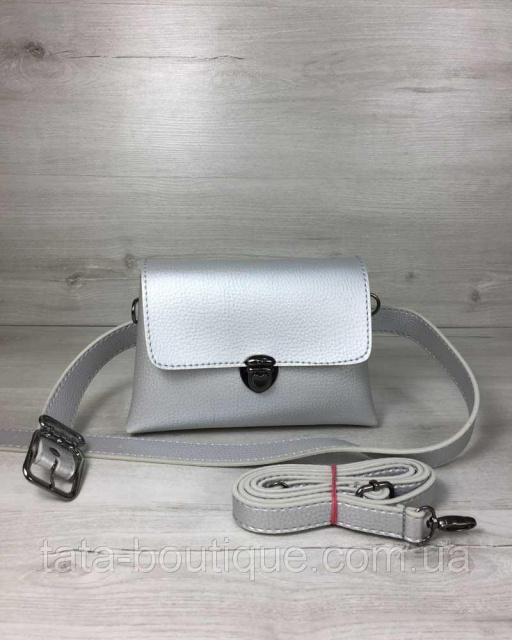 d899dd70 Женская сумка на пояс- клатч Белла серебряного цвета: продажа, цена ...