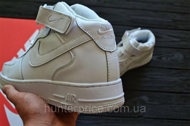 5161dfa1 Женские кроссовки Nike Air Force 1 Mid All white escape:'html'. Смотреть ...