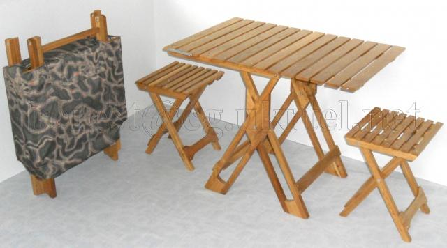 Набор раскладной мебели «ПИКНИК-половинка»
