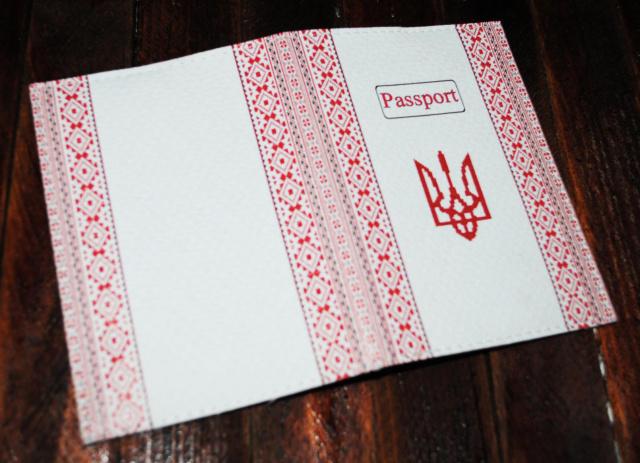 Патріотична обкладинка на паспорт -Вишиванка- c2dbdecf5ea06