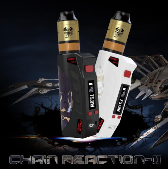 Бокс мод Itsuva Chain Reaction-II с Scorpion RDTA