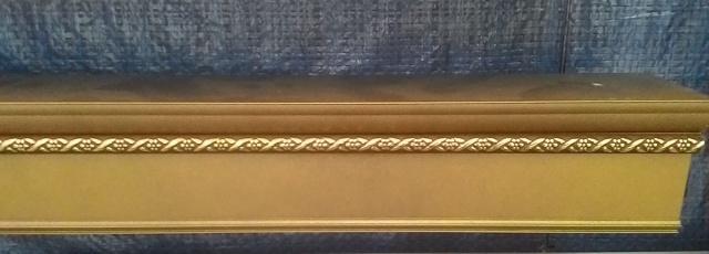 алюминиевый карниз тройной 020. Цвет «Хамилион»