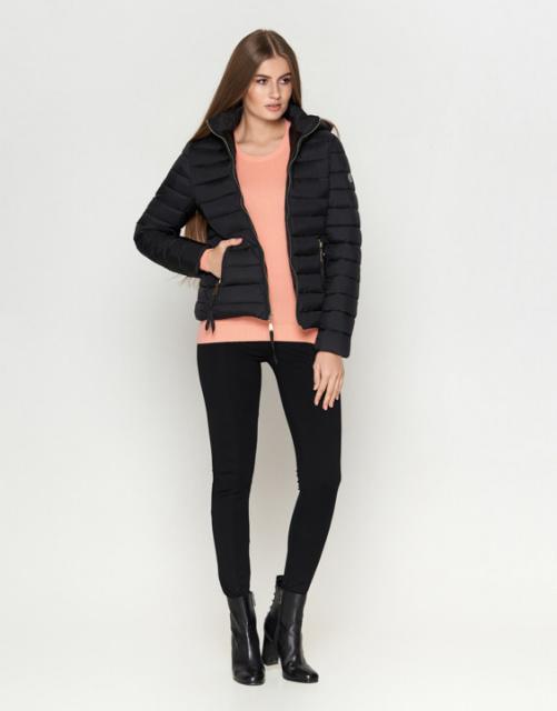 11 Киро Токао   Женская осенняя куртка 1863 черная. Коллекция  Куртки  женские осенние