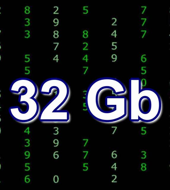 Восстановление данных 32Gb