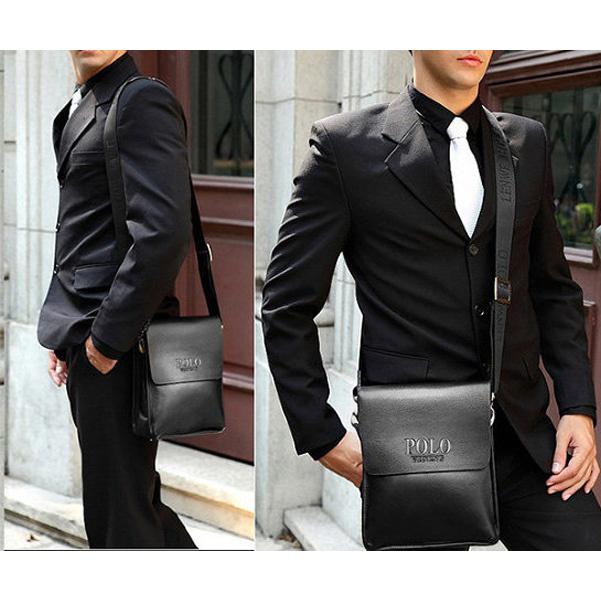 d2f0f12629ba Мужская сумка через плечо POLO Videng Classic Черная: продажа, цена ...