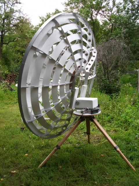 Кольцевой концентратор диаметром 2,2 метра