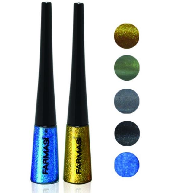 Жидкая подводка для глаз «Металлик» Farmasi Metalic Eyeliner