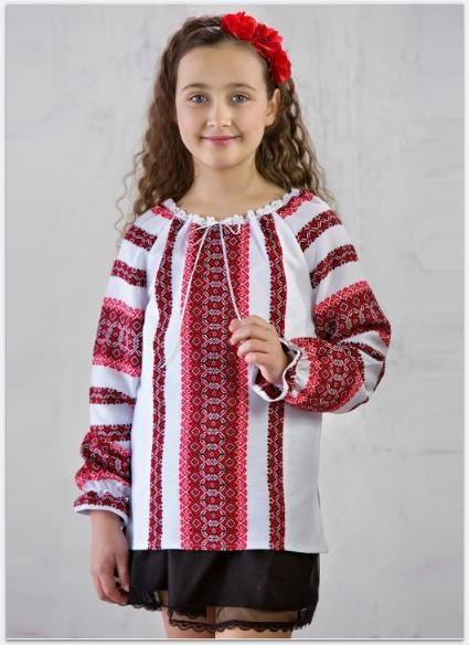 Вишиванка «Роксолана» червона  продажа ce22c42174a90