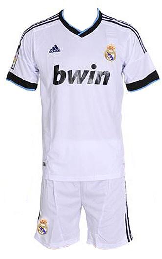 Футбольная форма Real Madrid 12/13 (домашняя)