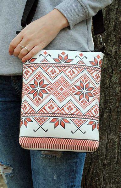 43b628eb8771 Кожаная сумка через плечо «Вышивка»: продажа, цена в Днепропетровске ...